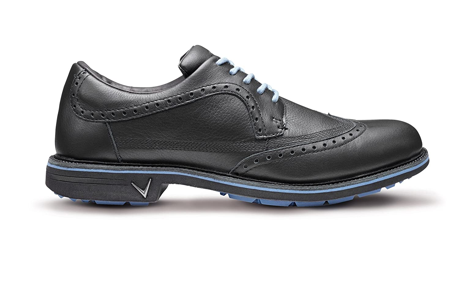Callaway Golf 2018メンズdel MarシリーズBrogue Spikelessゴルフシューズ 8 UK/ EUR 42 / US 9 Black/Moonlight B01N4UQXJA