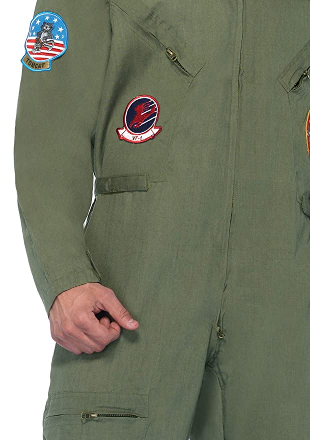Amazon.com: Leg Avenue Top Gun Flight - Traje de vuelo para ...