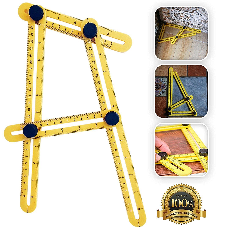 Angle-izer Outil de modèle, modèle de Règle à angles Mesure toutes les angles et formulaires pour Établis, Constructeurs, Artisans modèle de Règle à angles Mesure toutes les angles et formulaires pour Établis Citoc