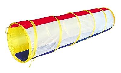 POCO DIVO Rainbow Play Tunnel 6-feet Pop-up Toy Tent Child Kids Mesh Tube