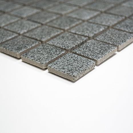 Rutschhemmend R10 Bodenfliesen Mosaik Keramikmosaik für Bäder ...