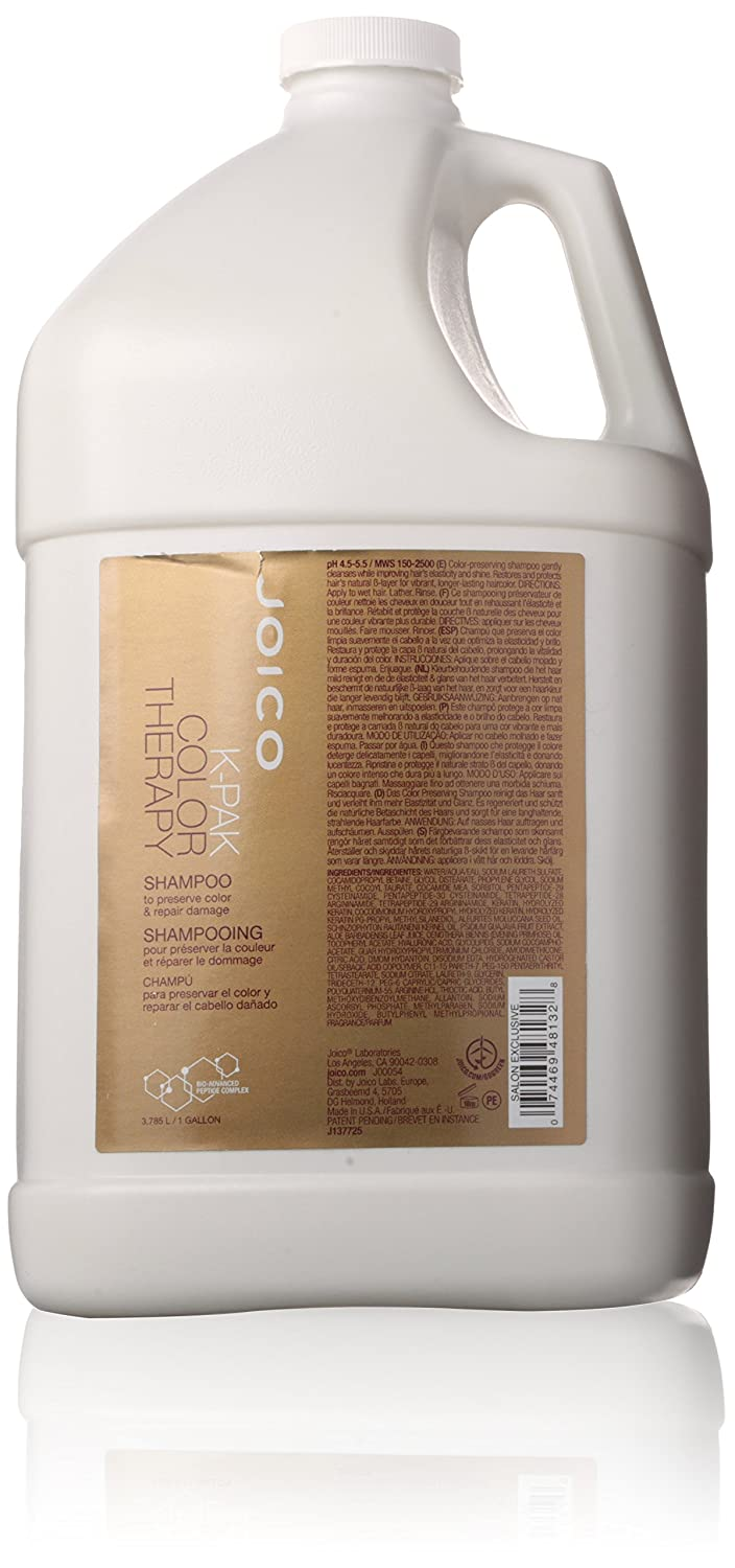 K-Pak Color Therapy Shampoo by Joico for Unisex - 1 Gallon Shampoo