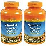 Thompson Vitamin C Powder   5000mg   100% Pure Ascorbic Acid   Immune Support & Antioxidant Supplement