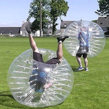 Transparente pelota hinchable de parachoques 1,5 m diámetro ...