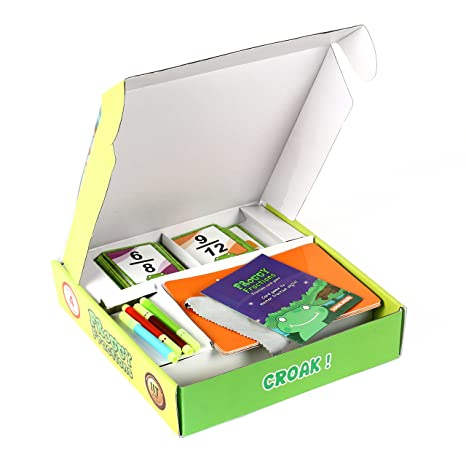 Amazon.com: FROGGY FRACTIONS card game with advanced fraction ...
