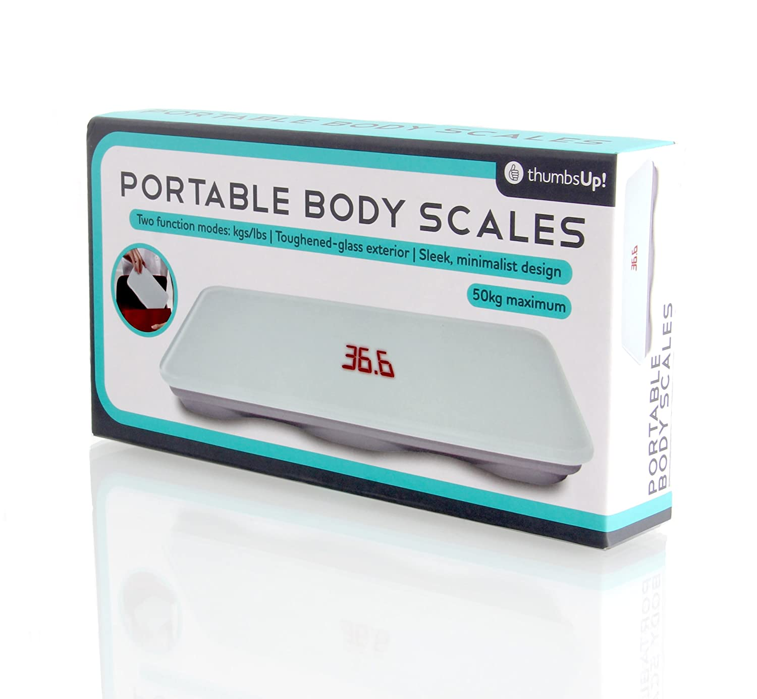 Amazon.com: Thumbs Up! Portable Body Scales: Home & Kitchen
