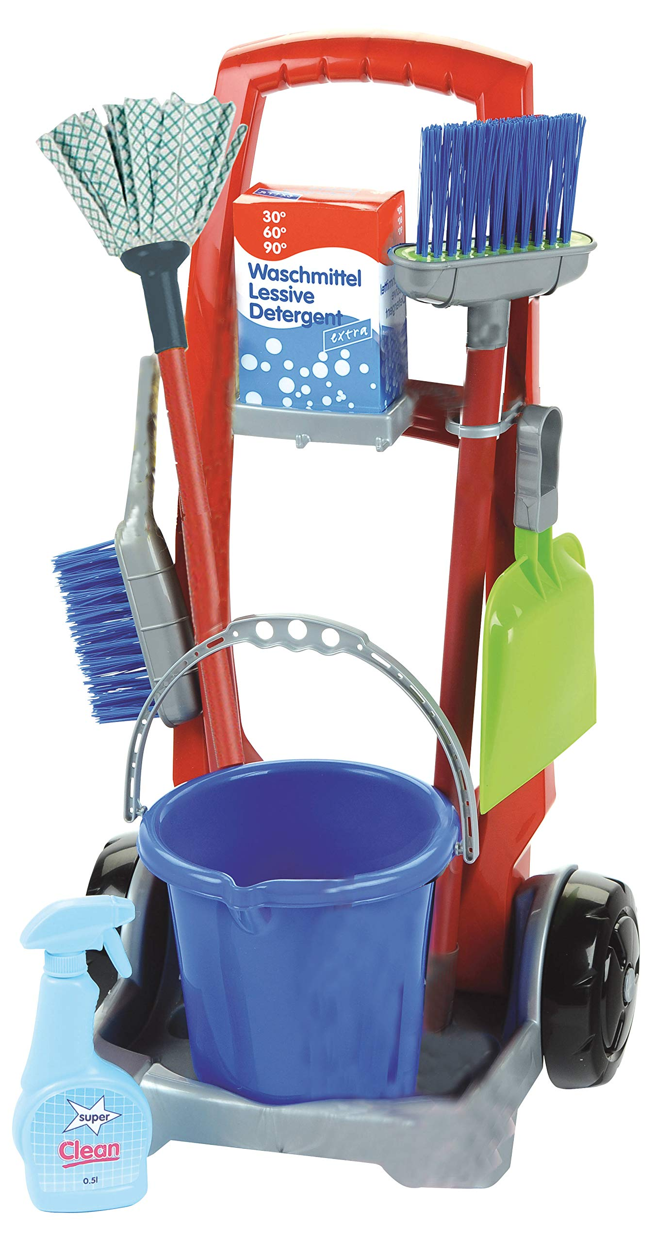 Theo Klein Cleaning Trolley by Theo Klein