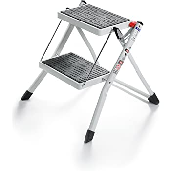 Amazon Com Adjustastep Tm Deluxe Step Stool Footstool