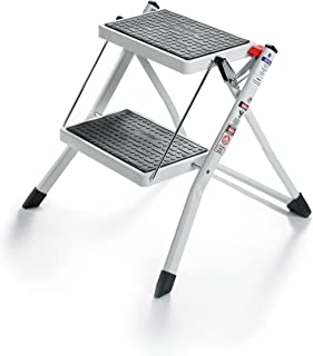Polder 90401-91H Mini 2-Step Stool 17  High 225 lb  sc 1 st  Amazon.com & Amazon.com: Compact Mini Folding 2-Step Stool Ladder: Home u0026 Kitchen islam-shia.org
