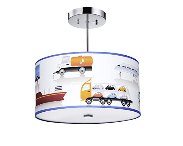 Firefly kids lighting transportation light fixture16 inches 3 light e26