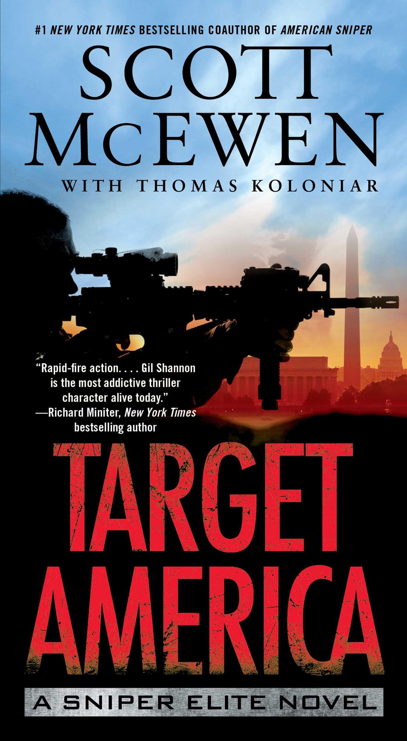 Amazon target america a sniper elite novel 9781476747200 amazon target america a sniper elite novel 9781476747200 scott mcewen thomas koloniar books fandeluxe Gallery
