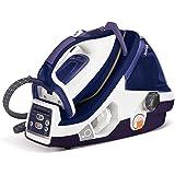 Tefal Pro X-Pert Plus GV8977 蒸汽熨斗(可调节蒸汽0-120 克/分钟,蒸汽喷射:500克/分钟, 有效区域(Power-Zone): 360克/分钟 自动断电功能7.2 巴) 紫色/白色