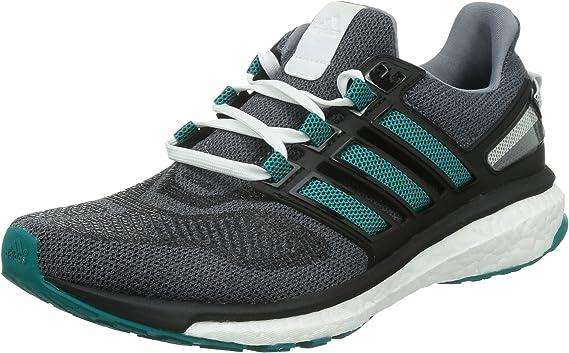 adidas Energy Boost 3 M, Zapatillas de Deporte para Hombre, Gris/Verde/Negro (Gris/Eqtver/Negbas), 50 2/3 EU: Amazon.es: Deportes y aire libre