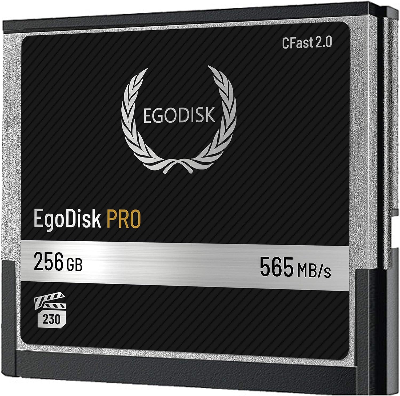 Amazon.com: egodisk Pro 256 GB CFast 2.0 Tarjeta de memoria ...