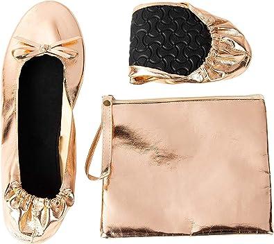 Foldable Ballet Flats - Women's