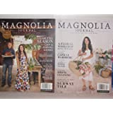 THE MAGNOLIA JOURNAL MAGAZINE 2016,PREMIER ISSUE &MAGNOLIA JOURNAL#2 SPRING 2017