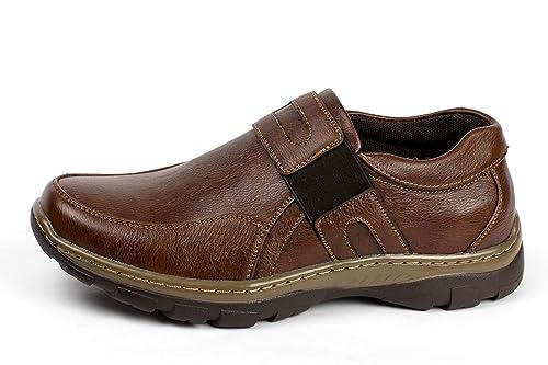 para Hombre Casual sin Cordones Clásico Zapatos de Trabajo Elegante Oficina Cómodo Mocasines: Amazon.es: Zapatos y complementos