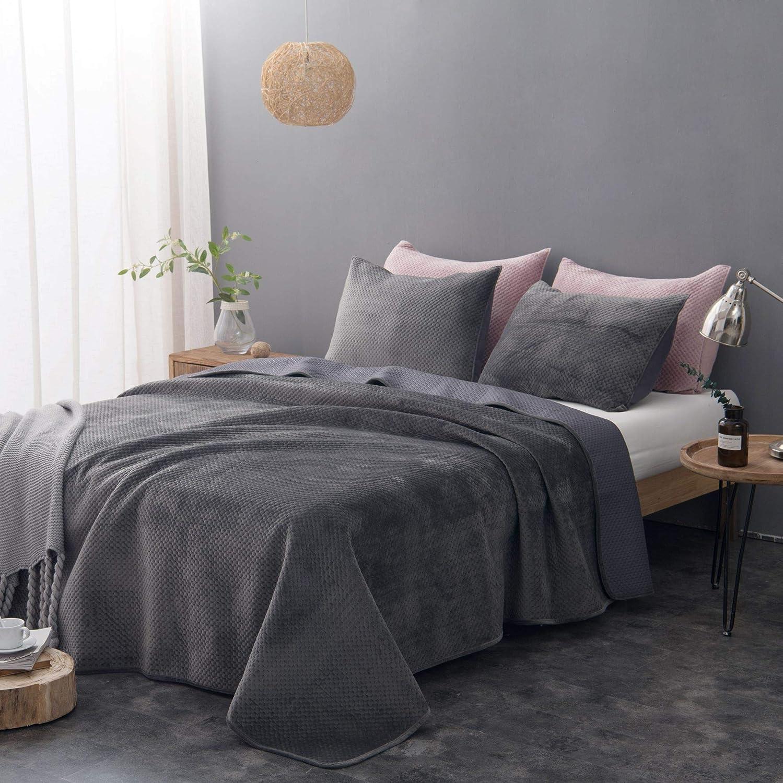 Amazon Com Hoboom Quilt Bedding Set Blanket Set California King 100
