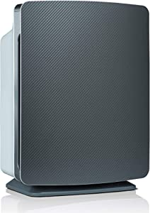Alen BreatheSmart FIT50 Air Purifier for Bedrooms, Living Rooms, Offices, 900 SqFt. Coverage Area, True HEPA Filter for Pollen, Dust, Dander, and Allergies, Large Room Air Cleaner, Graphite