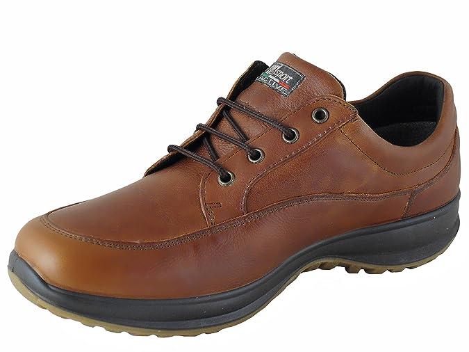 Livingston, Zapatos de Low Rise Senderismo Hombre, Marrón (Tan), 41 EU Grisport