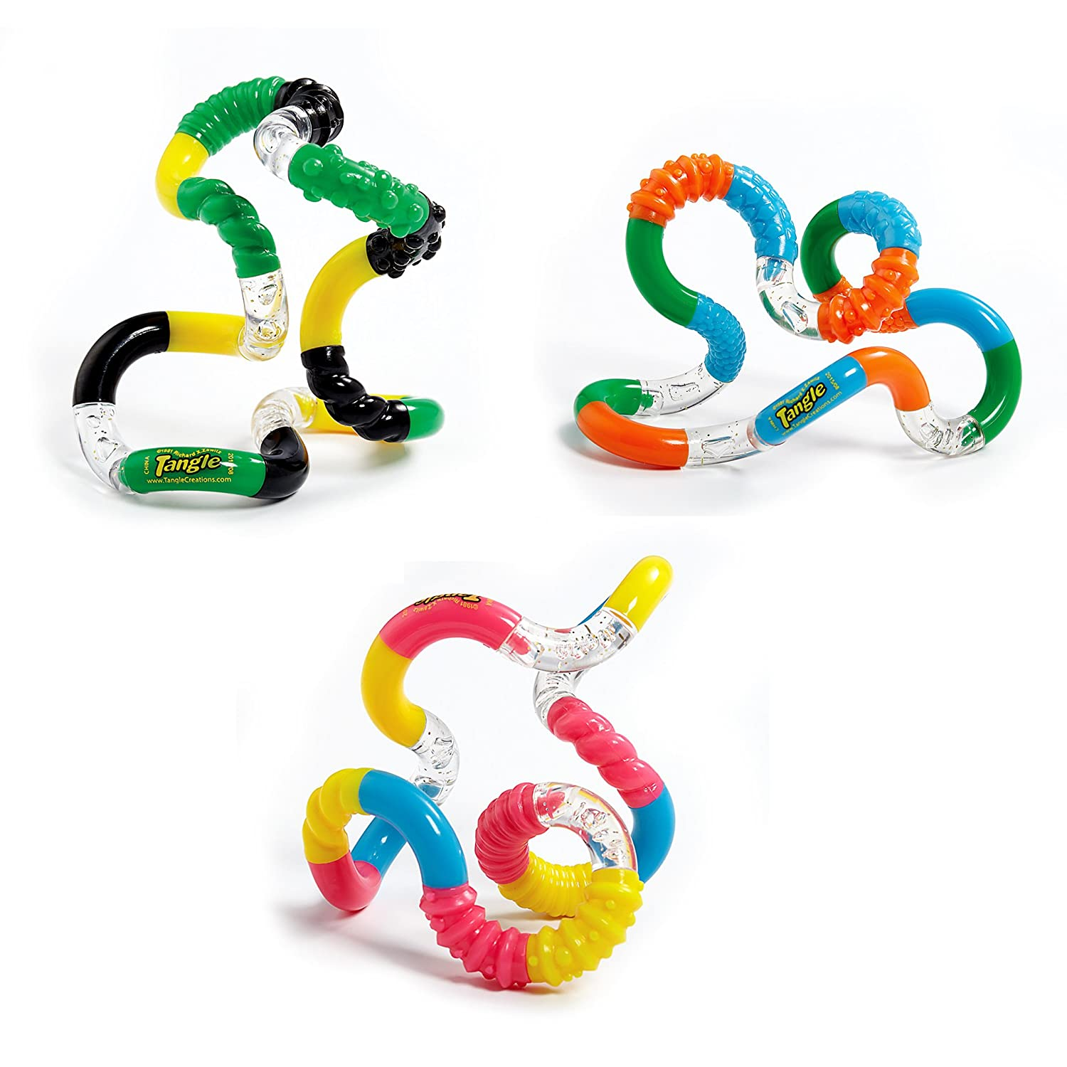 Amazon Tangle Jr Brain Tools Textured Sensory Fid Toy 3
