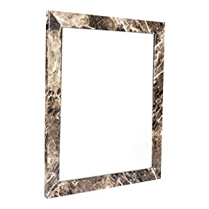 Sifty Collections Decorative Wall Mirror/Makeup Mirror/Looking Glass Inner Size 10 x 12 inch, Outer Size 12 x 14 inch