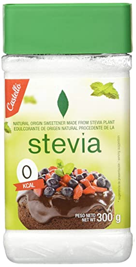 Castelló Since 1907 Stevia Sweetener 1:2   2 Pack X 300 Gr   Total: 600 Gr by Castello Since 1907