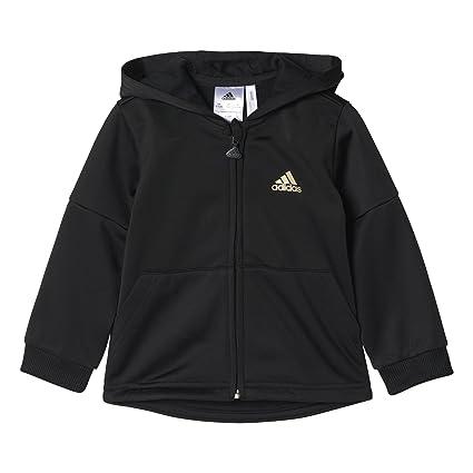 c688f88f21 Adidas ay6078 - Tuta per Bambini, Bambino, I St Shiny Fzhd, Nero  (Nero/Dormet): Amazon.it: Sport e tempo libero