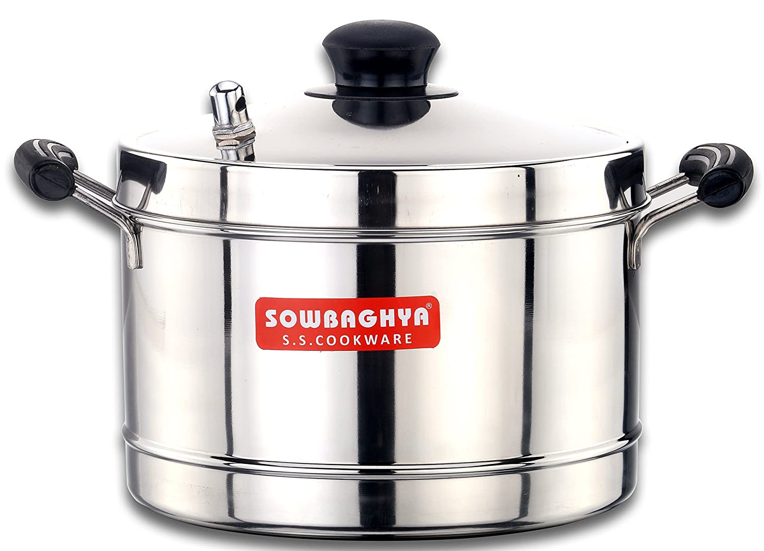 Buy Sowbaghya Induction Base Stainless Steel Idly Cooker 4 Plates Circuit Boardelectric Cookerinduction Online At Low Prices In India