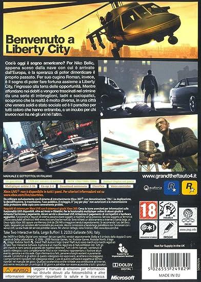 Grand Theft Auto IV(Classics): Amazon.es: Videojuegos