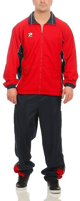 Patrick – Chándal para Hombre Color Rojo/Navy/White Talla XXL ...