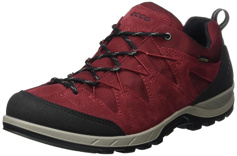 Röd (svart  Brick 50612) ECCO Mans Mans Mans Yura Hiking skor  online till bästa pris