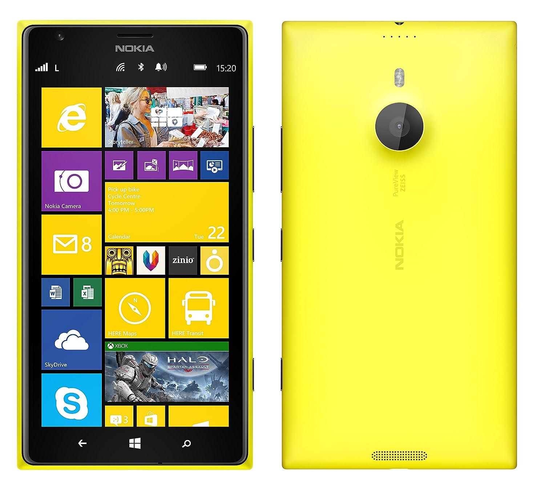 Amazon.com: Nokia Lumia 1520 16GB Unlocked GSM 4G LTE Windows 8 Smartphone  w/Carl Zeiss Optics 20MP Camera - Yellow (No Warranty): Cell Phones &  Accessories