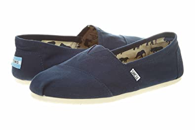 0310142256e TOMS Men s Classic Canvas Slip On Navy 7 D(M) US