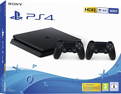 Playstation 4 (PS4) - Consola 500 Gb + 2 Mandos Dual Shock 4 (Edición Exclusiva Amazon): Amazon.es: Videojuegos