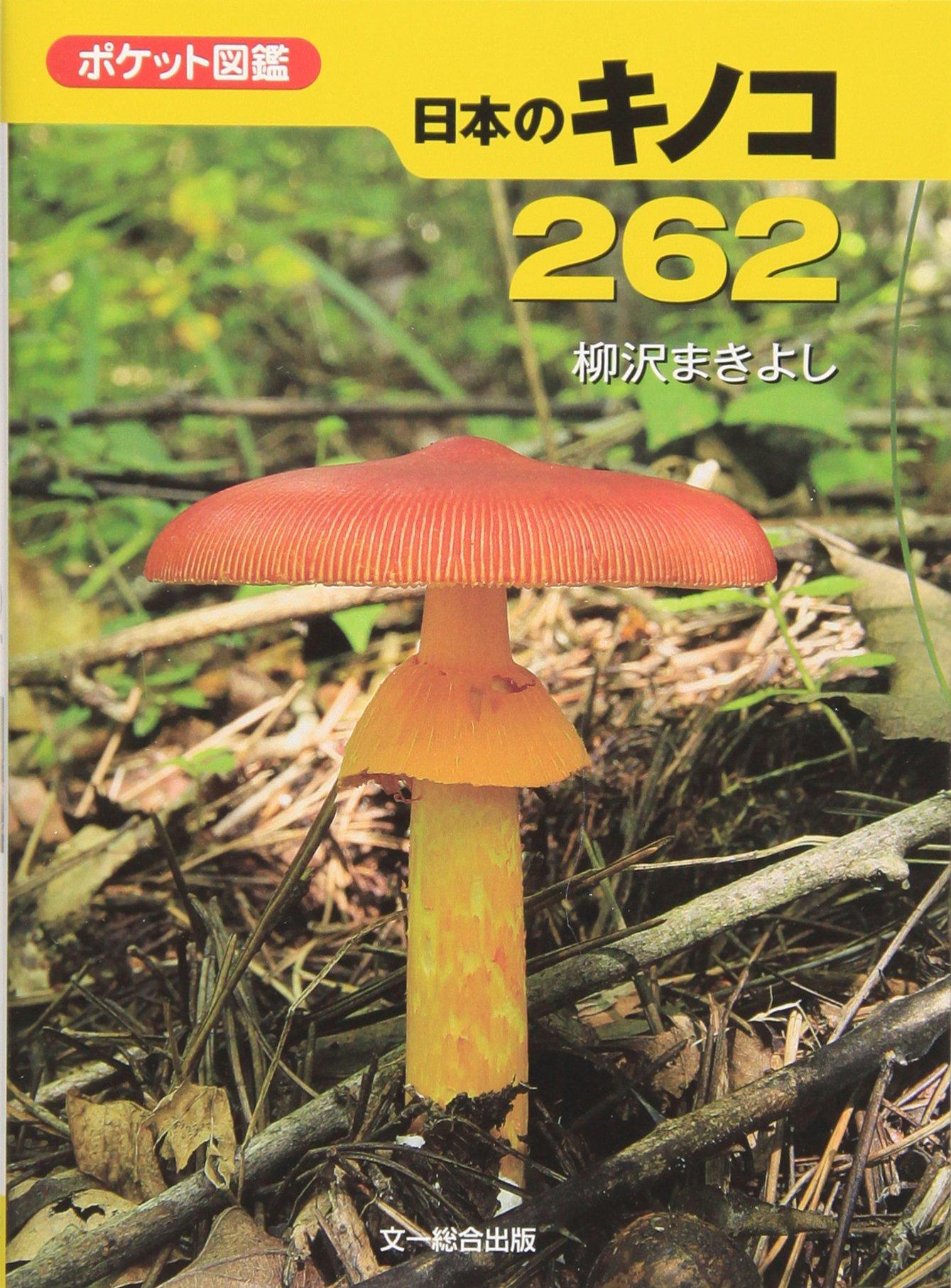 ポケット図鑑 日本のきのこ262