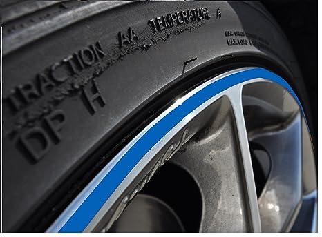 StickandShine - Pegatina para llanta de coche o moto (ruedas de 10-24 pulgadas