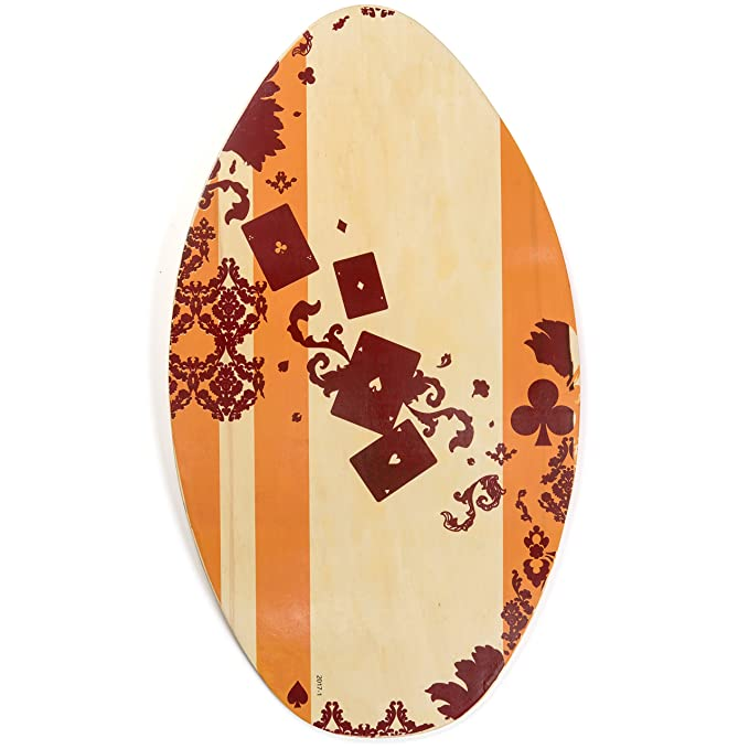 Best Skimboards : Lucky Bums Wood Skimboard