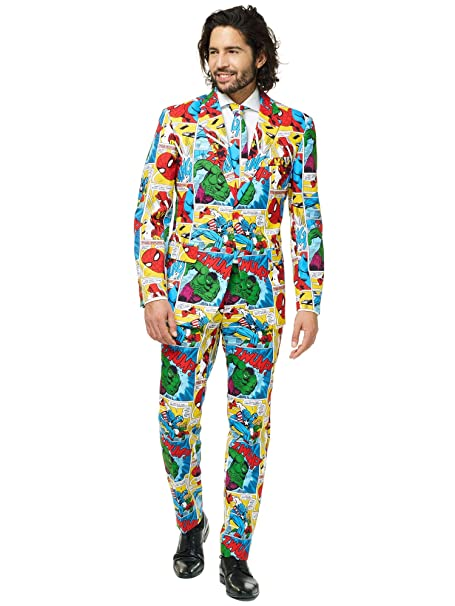 Amazon.com: OppoSuits Spider-Man - Traje para hombre: Clothing