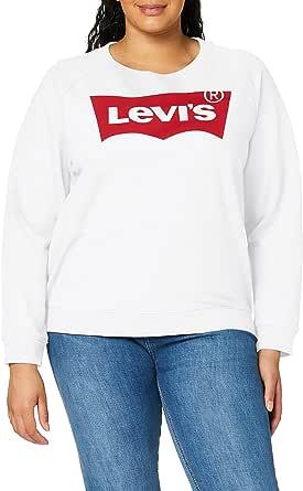 Levi's Relaxed Graphic Crew Sudadera para Mujer