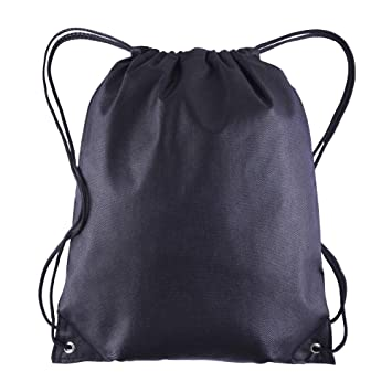 512c1af684fa Pack of 25 - Non-Woven Promotional Drawstring Bags - Drawstring Backpack in  BULK - String Backpack - String Bag - Drawstring Tote Bag - Cinch Bag - ...
