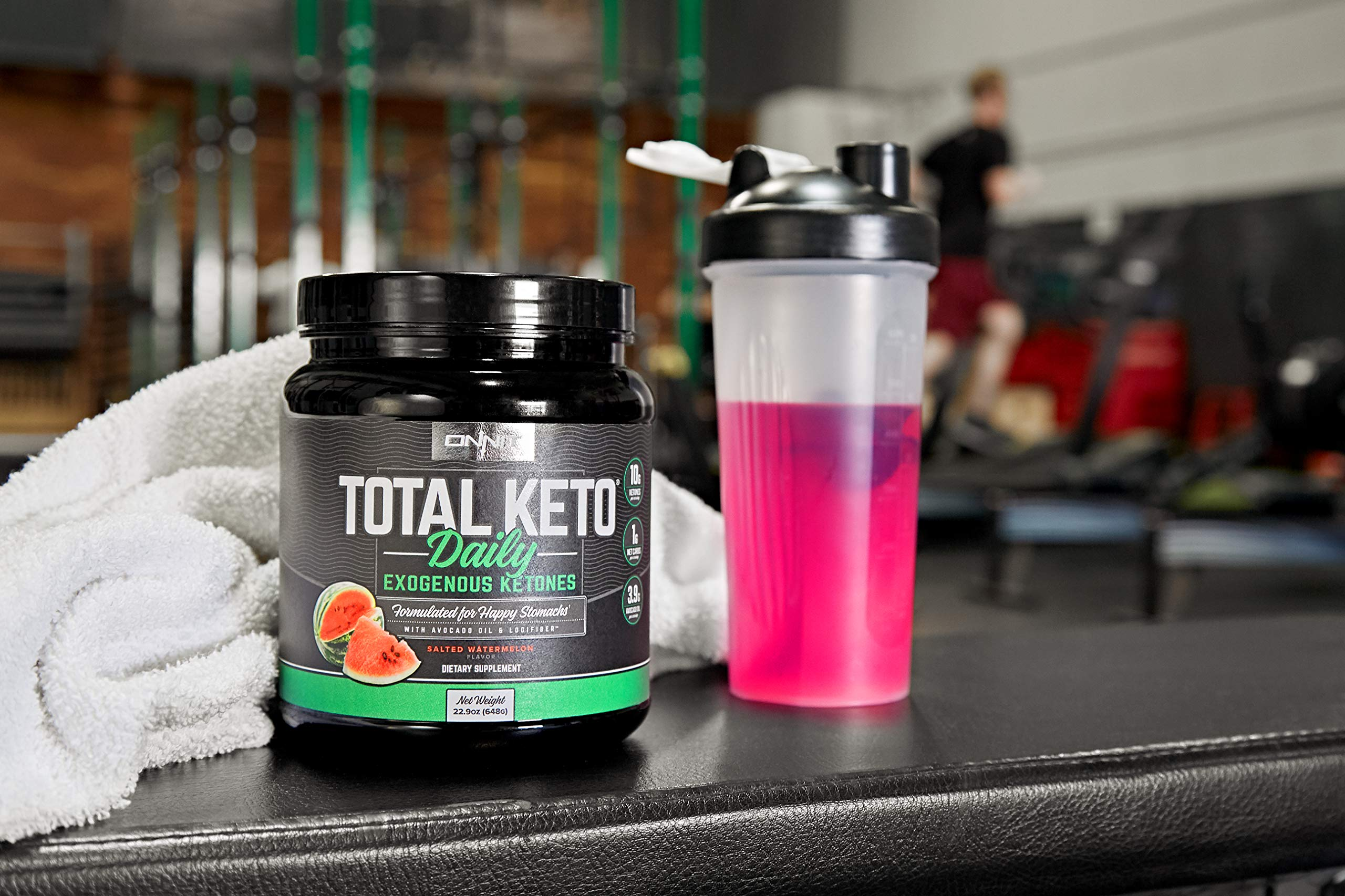 ONNIT Total Keto | Exogenous Ketones Supplement for Low Carb Diet | Premium Value Keto Supplement at 300g Ketone per Tub | Perfect Keto Fuel for Keto Shakes | Watermelon Flavor | 30 Servings by ONNIT (Image #5)