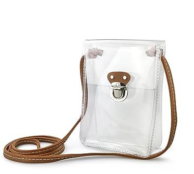 Amazon.com: Bolsa de hombro transparente para estadio ...