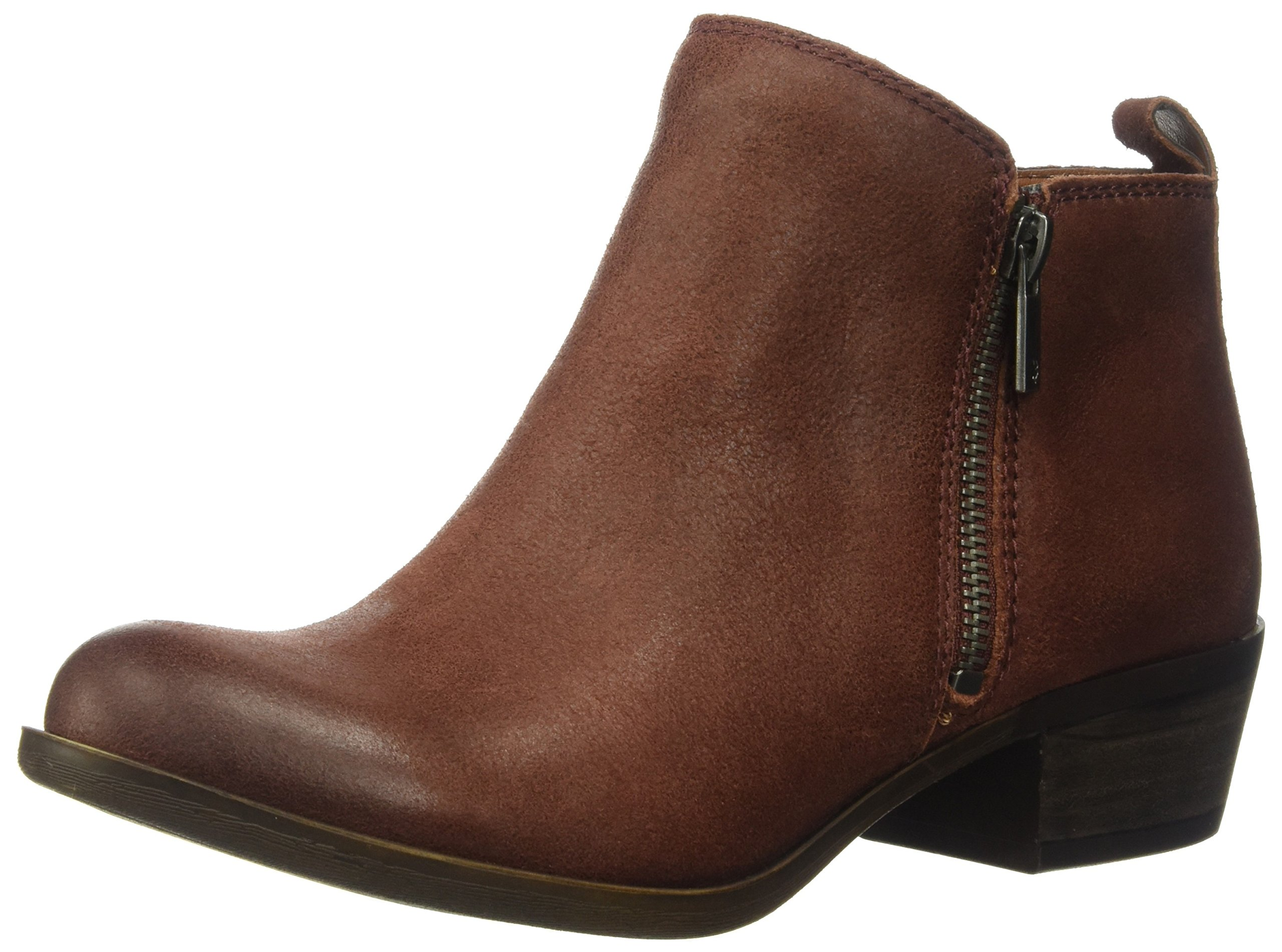 Lucky Women's LK-Basel Ankle Boot, Sable, 7.5 Medium US