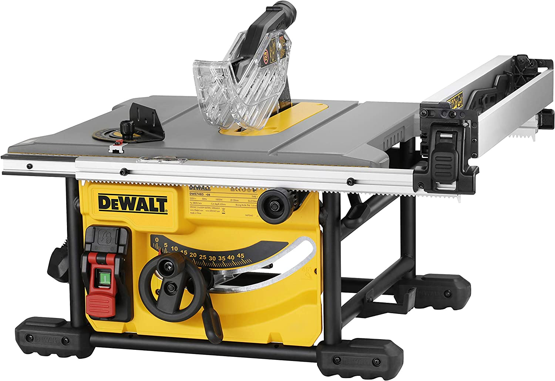 DeWalt DWE7485-QS DWE7485-QS-Sierra de Mesa 1.850W-Ø210mm-Mesa ...