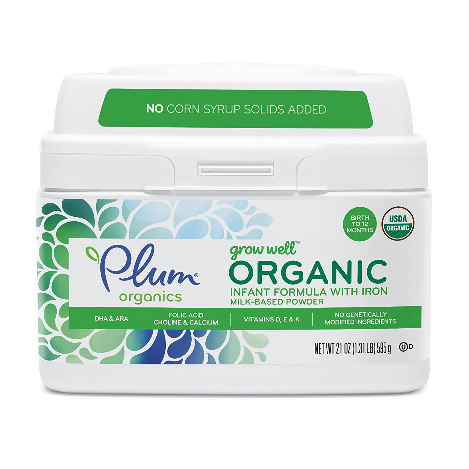 Plum Organics Grow Well Organic Formula