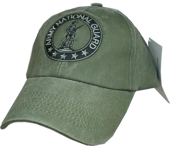 474b2307cf1 Amazon.com  Eagle Crest Army National Guard Baseball cap hat