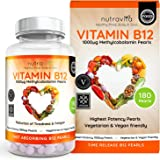 Vitamin B12 1000 mcg Methylcobalamin 180 Time Release Pearls | Contributes to the normal function of the immune system, red blood cell formation & reduction of tiredness and fatigue