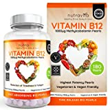 Vitamin B12 1000 mcg Methylcobalamin 180 Time Release Pearls   Contributes to the normal function of the immune system, red blood cell formation & reduction of tiredness and fatigue