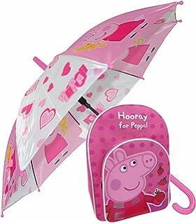 Peppa Pig 3d Peppa Rucksack Girls Backpack Junior 3d Small